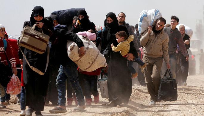 Центр попримирению вСирии обеспечил питанием неменее 10-ти тыс. граждан