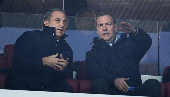 Виталий Мутко: «Договоренность опроведении товарищеского матча РФ  - Италия остается»