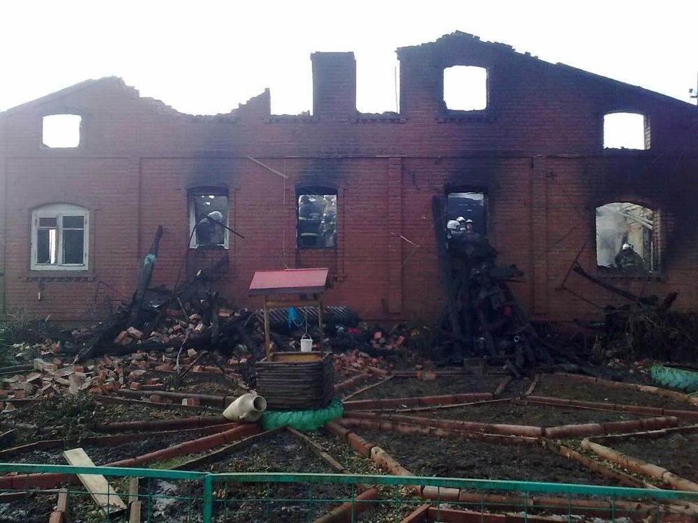 Сгоревшие дома фото