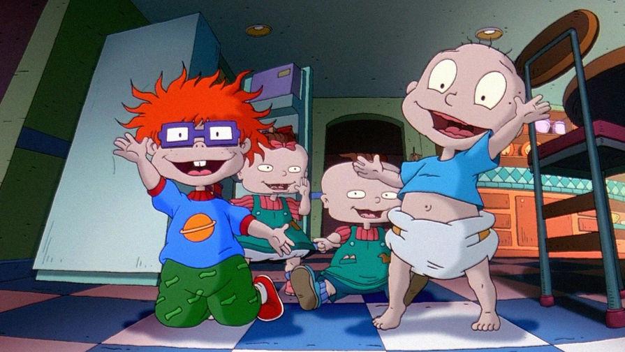 Канал Nickelodeon перезапустит мультипликационный сериал  «Охужэти детки»