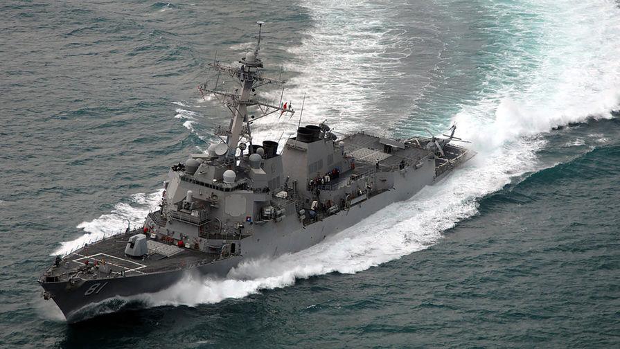 Американский эсминец вошел вСредиземное море