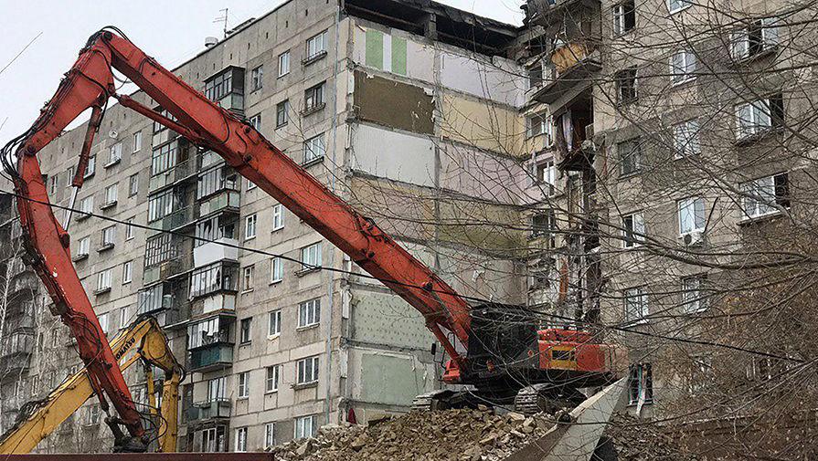 Для расселения пострадавшего отвзрыва газа дома вМагнитогорске пригодится год— губернатор