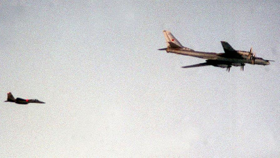 Истребители ВВС США сопровождали русские Ту-95 вблизи Аляски