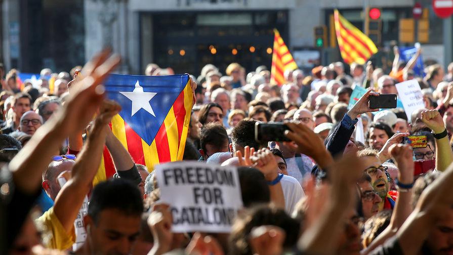 ВКаталонии заканчиваются приготовления кпарламентским выборам