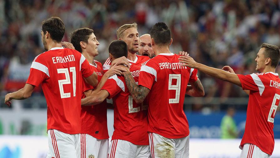 Сборная Российской Федерации разгромила чешских футболистов втоварищеском матче