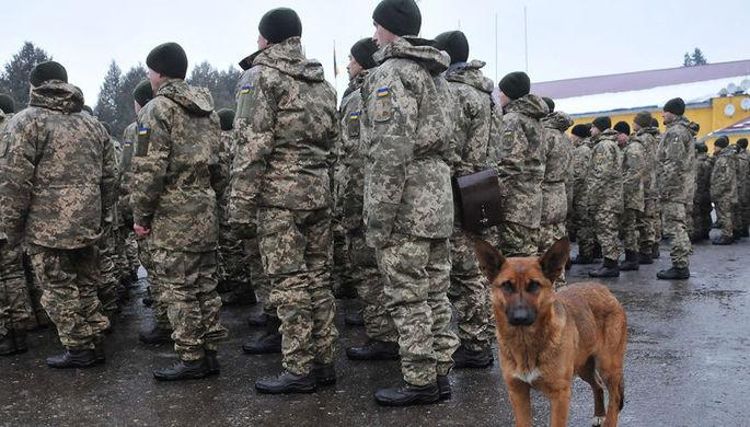 Войска ВСУ привели в полную боеготовность перед Пасхой