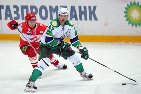 Александр Радулов организовал два гола хозяев