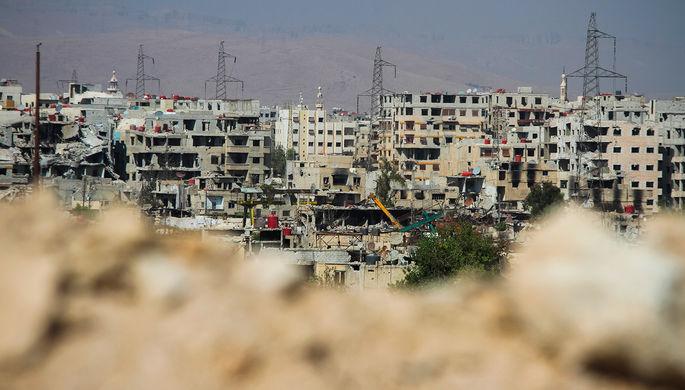 Сирийская армия прорвалась кбазе бронетехники под Дамаском