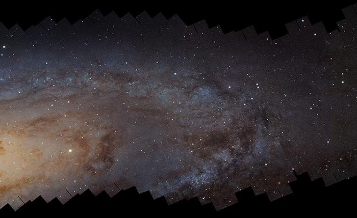 ����������� ����� �������� ��������� ��������� (M31), ���������� �� ��������� «�����» �...