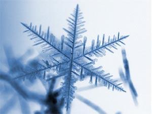 В природе бывают только шестиугольные снежинки!