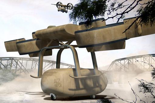Летающий робот ARES