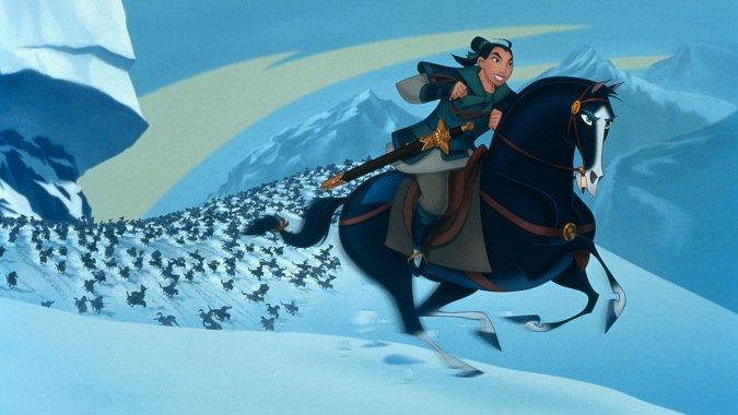 Disney снимет фильм «Мулан» вформате 3D