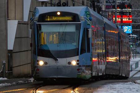 Как доехать из Германии во Францию на трамвае