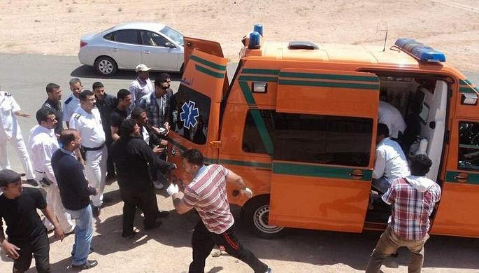 В итоге трагедии вЕгипте 8 пассажиров автобуса погибли, еще 22 пострадали