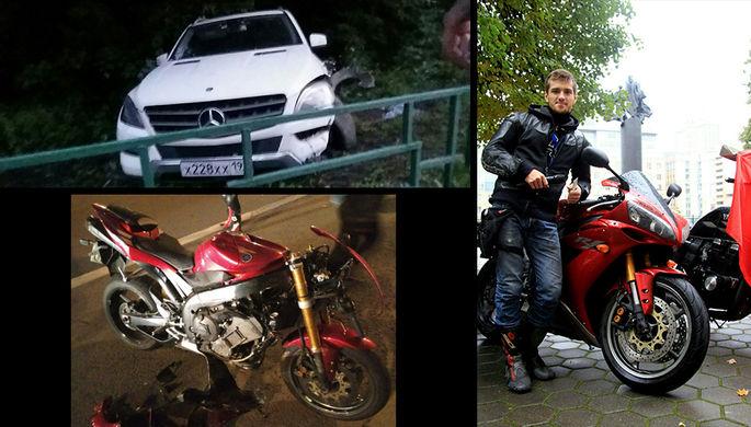 Сбивший насмерть байкера наКутузовском проспекте ученик МГИМО арестован