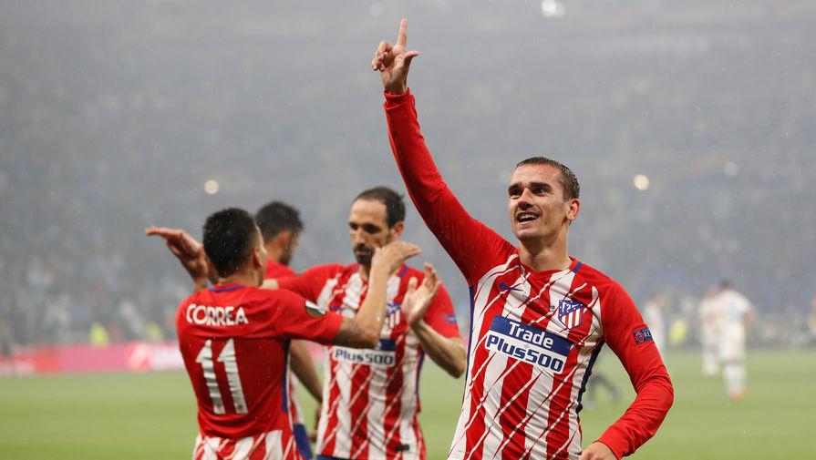 «Атлетико» всухую разгромил «Марсель» и одержал победу  Лигу Европы