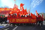 1 мая по Москве пройдут шествием коммунисты, анархисты, националисты и «Единая Россия» под прикрытием профсоюзов