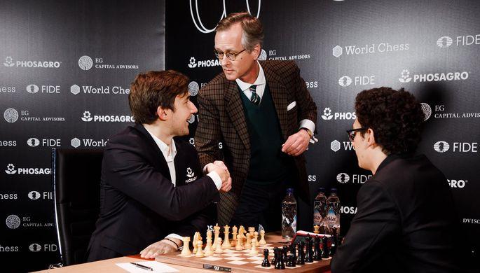 Владимир Крамник победил армянского гроссмейстера Левона Ароняна натурнире претендентов
