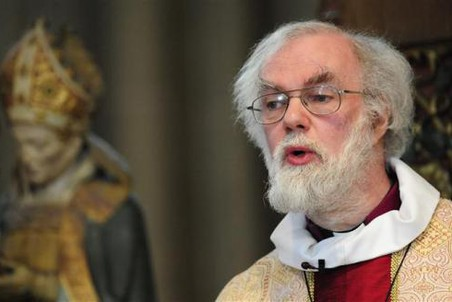 Духовный глава Англиканской церкви архиепископ Кентерберийский Роуэн Уильямс уходит в отставку