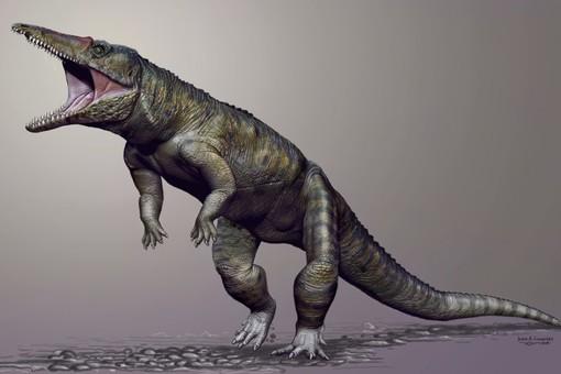 В США найдены останки прямоходящего крокодила