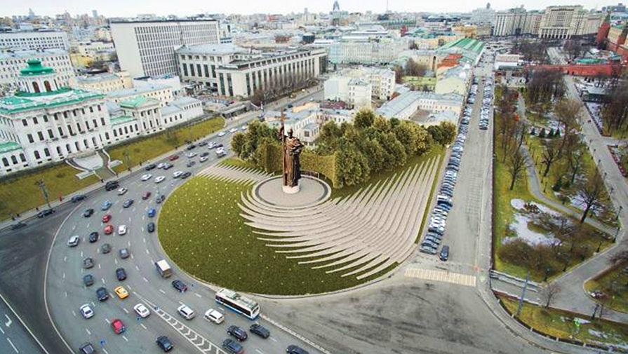Памятник князю владимиру где находится