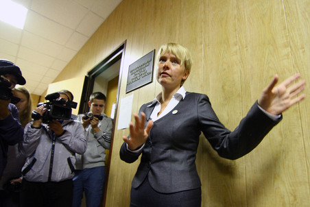 Opposition activist Chirikova registered for Khimki mayoral vote &mdash; Gazeta.Ru 