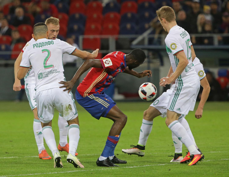 ЦСКА подчеркнул открытие своего стадиона крупной победой вчемпионате РФ