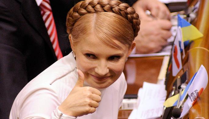 «Штамп налбу». Стала известна цель образа Тимошенко скосой