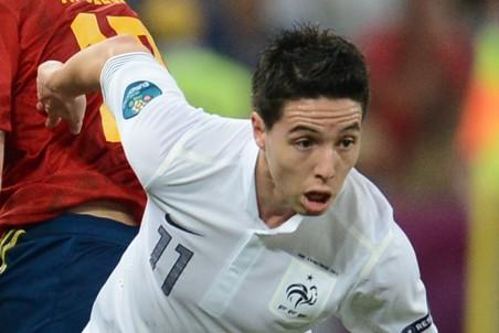 У Самира Насри поcле матча с испанцами сдали нервы