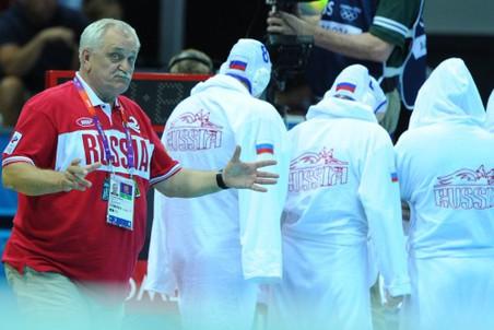 Александр Кабанов и его подопечные на Играх в Лондоне