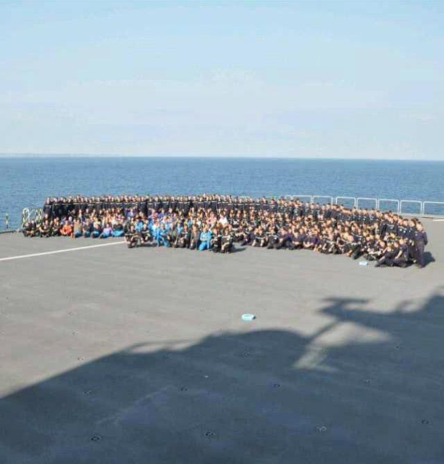 Предполагаемое фото экипажа «Владивостока»