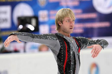 Евгений Плющенко посрамил скептиков, показав хороший прокат программы весьма серьезного уровня
