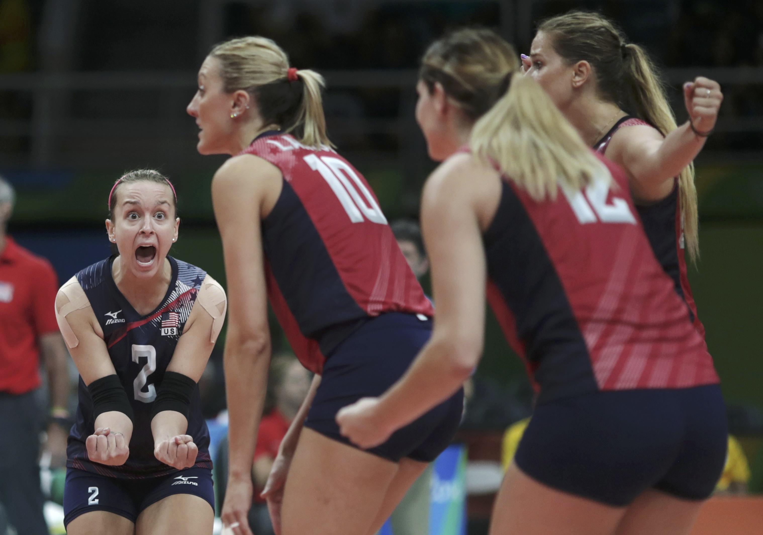 сербия сша волейбол результат