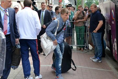 Андрей Аршавин извинился за результат сборной России на Евро-2012