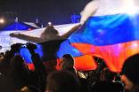 Жители Крыма отпраздновали итоги референдума о присоединении к России