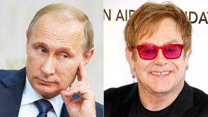 Владимир Путин согласился встретиться с Элтоном Джоном