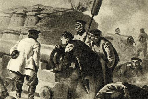 «Адмирал Нахимов на севастопольском бастионе»