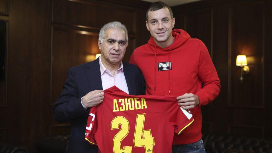 «Зенит» подтвердил переход Дзюбы втульский «Арсенал»