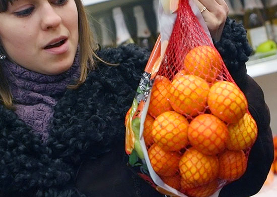 Мандарины вАбхазии съели вредители