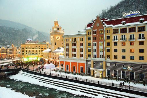 Гостиницы горнолыжного курорта «Роза Хутор» в Красной поляне, Сочи
