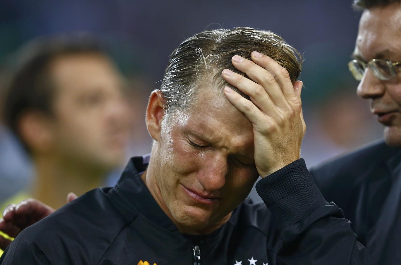 Швайнтштайгер провел прощальный матч засборную Германии