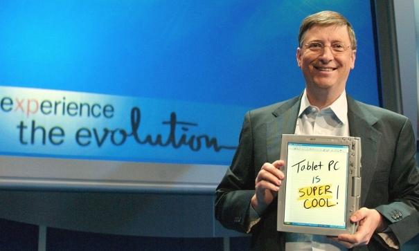 Билл Гейтс: Планшеты — это круто!