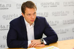 Заместитель мэра Москвы по вопросам транспорта Максим Ликсутов в редакции «Газеты.Ru»