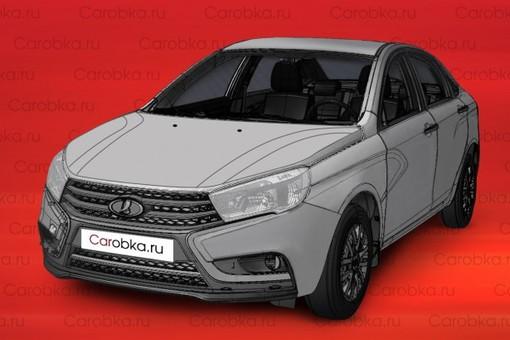 Изображение новой модели Lada