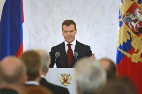 Последнее послание Дмитрия Медведева переносится