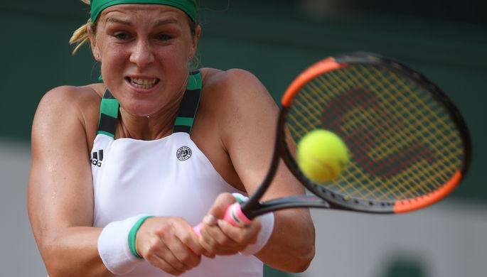 Касаткина одолела Павлюченкову впервом раунде теннисного Кубка Кремля
