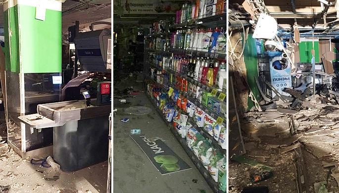 Стало известно имя подозреваемого вовзрыве супермаркета вПетербурге