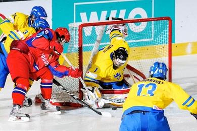 Юниорская сборная России проиграла шведам на ЧМ