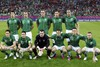 Сборная Ирландии перед матчем