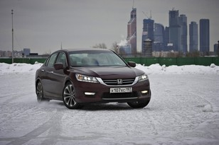 Тест-драйв новой Honda Accord 2013